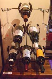 Porta Botella para 6 Vinos